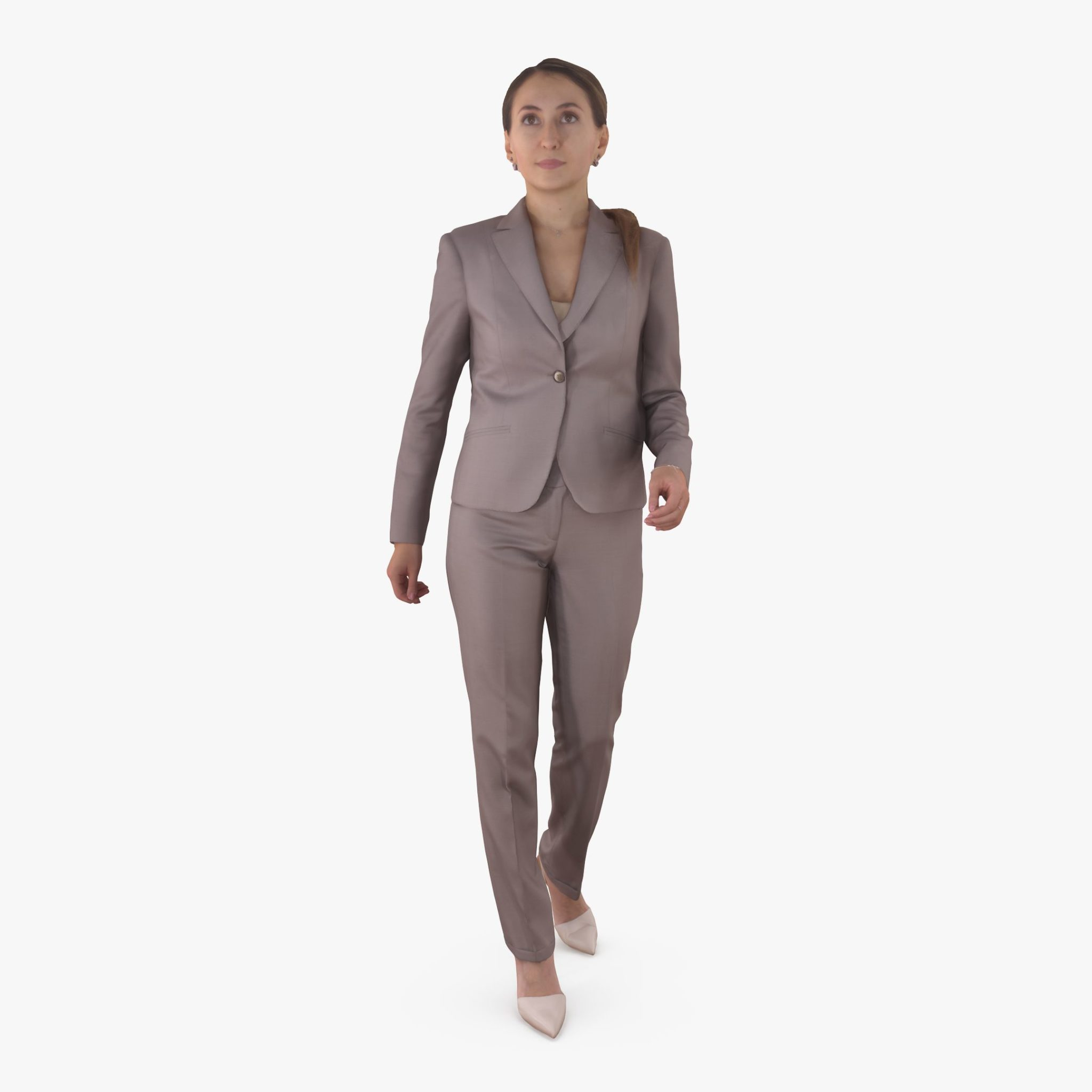 Business Woman Active 3D Model | 3DTree Scanning Studio