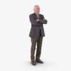 Businessman Standing 3D Model | 3DTree Scanning Studio