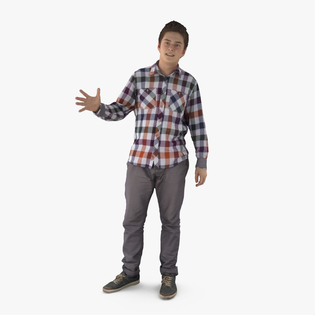 Guy Telling 3D Model | 3DTree Scanning Studio
