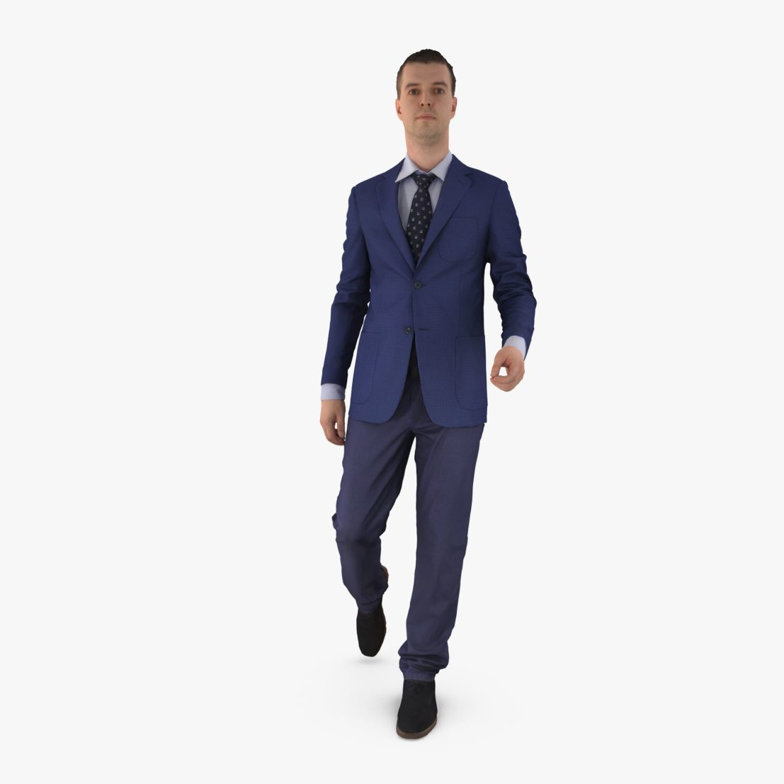 Businessman Walk 3D Model | 3DTree Scanning Studio