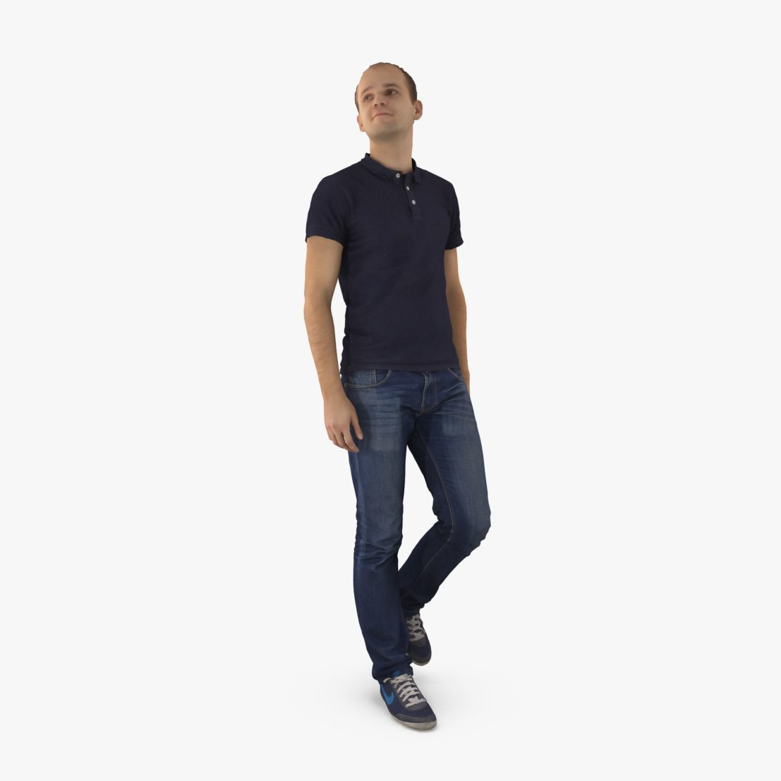 City Guy Walking 3D Model | 3DTree Scanning Studio