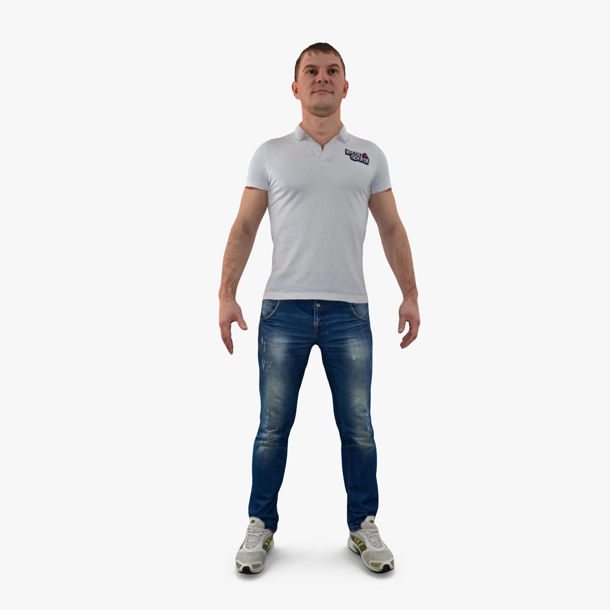 City Man Apose 3D Model | 3DTree Scanning Studio