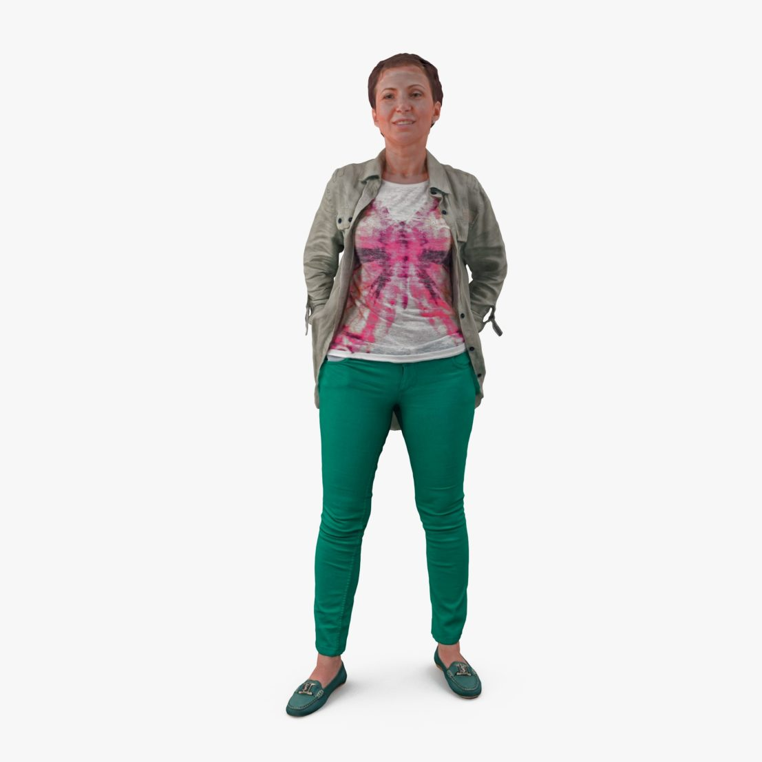 Woman Hands Pocket3D Model | 3DTree Scanning Studio