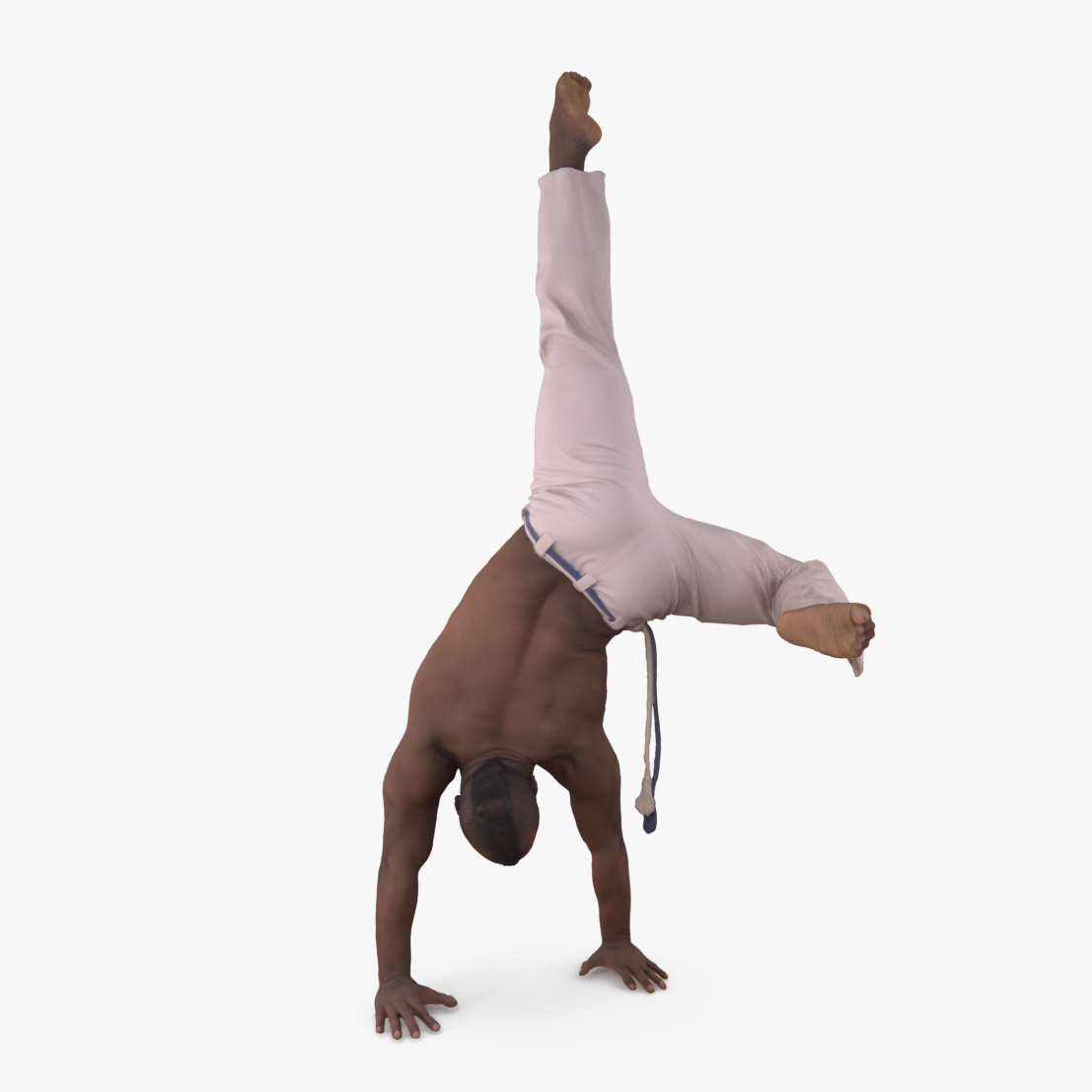 Capoeira Handstand 3D Model | 3DTree Scanning Studio