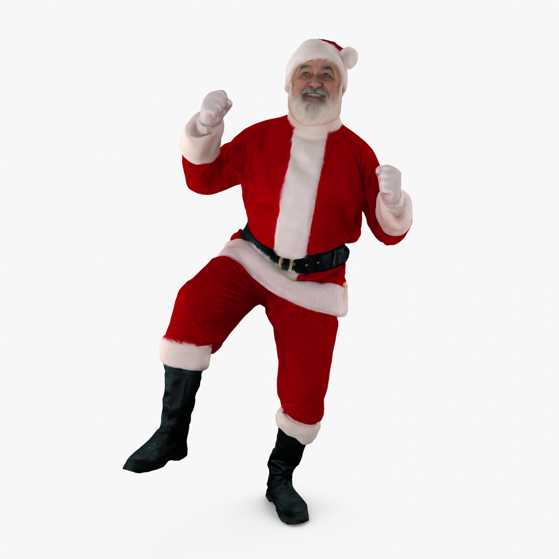 Santa Dancing 3D Model | 3DTree Scanning Studio