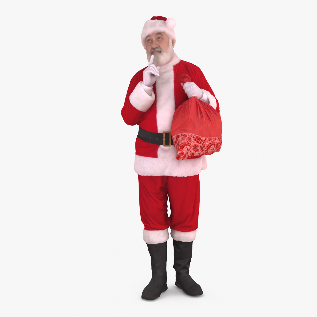 Santa Secret 3D Model | 3DTree Scanning Studio