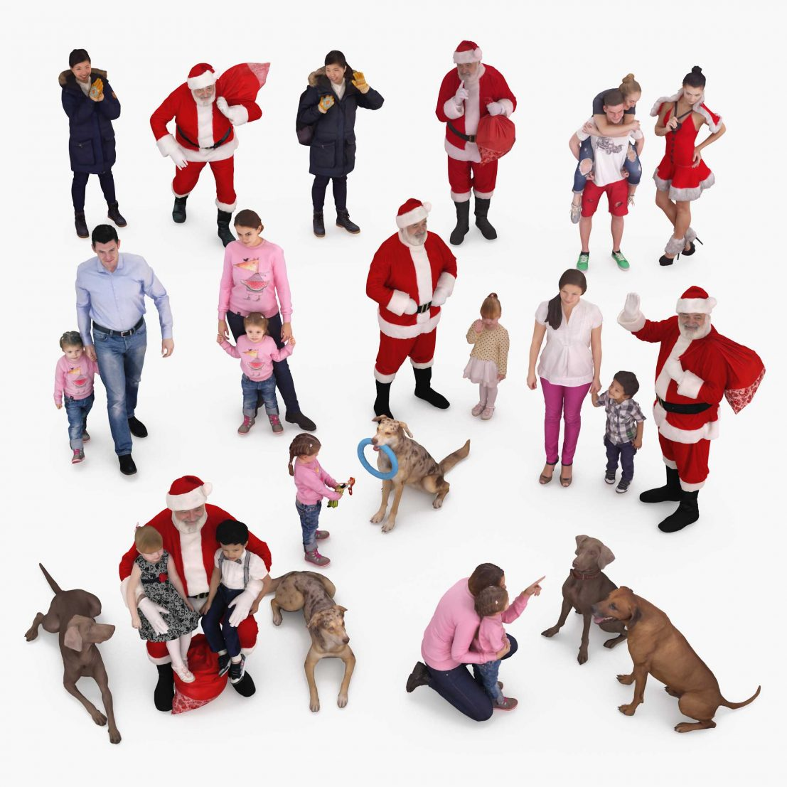 Holiday People x20 3D Models | powered by 3D Scanning Studio 3DTree
